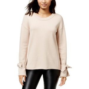 Bar III Womens Knit Crewneck Pullover Sweater Top